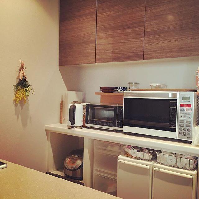 キッチン家電の収納アイデア3