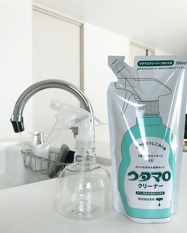 コツのいらない洗剤を使ってキッチン掃除