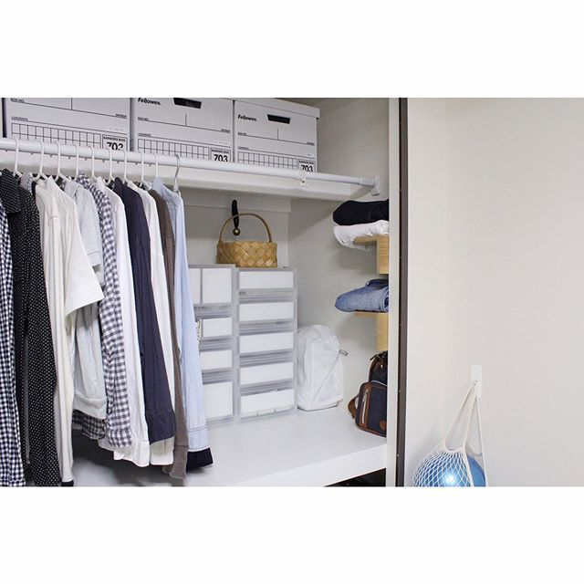押入れの洋服収納13