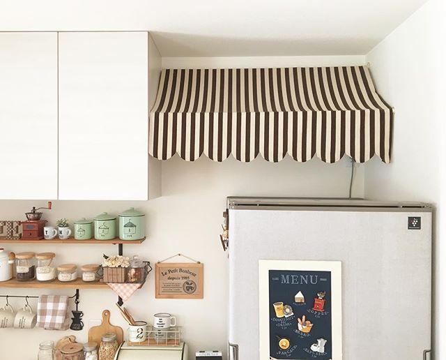 キッチンの突っ張り棒活用アイデア3