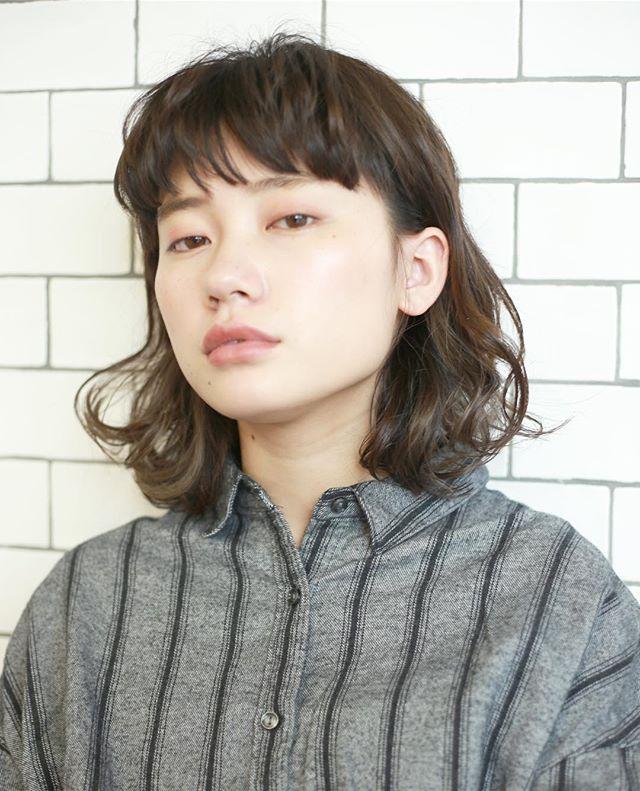 面長さんに似合う髪型12