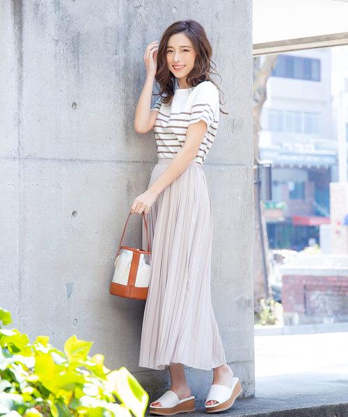 夏のガーリーコーデ《スカート》