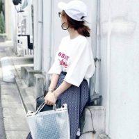 白キャップの夏コーデ【2020最新】抜け感のある大人女子の着こなしテク