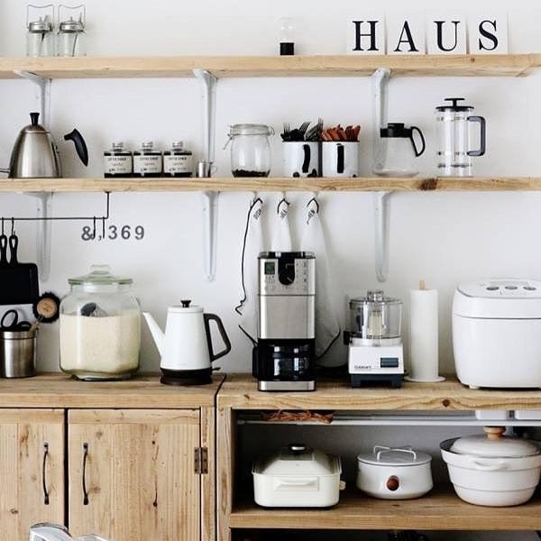 キッチン家電の収納アイデア14