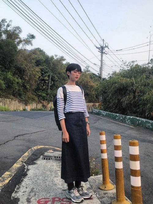 無印良品 スカート3