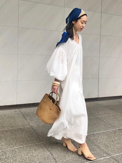 [ETRE TOKYO] カラースキームペイントスカーフ