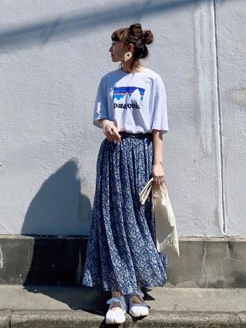 [AZUL ENCANTO] 【洗濯機で洗える】【静電気 軽減効果】ウエストシャーリングギャザーフレアースカート
