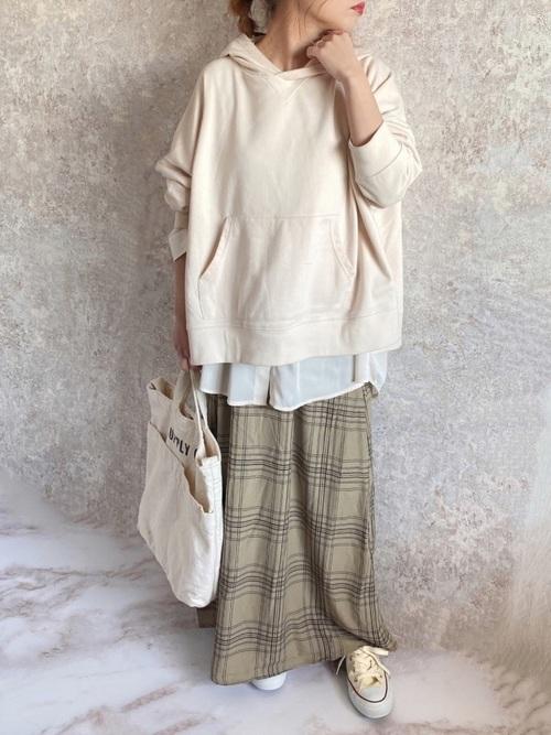 [GeeRA] 【WEB限定】ソフトマーメイドプリントスカート
