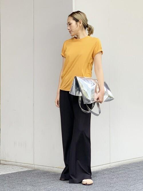 [Deuxieme Classe] スーピマコットンTシャツ