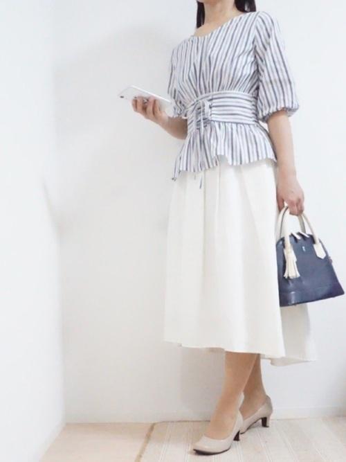 プチプラ スカート 大人女子 GU4