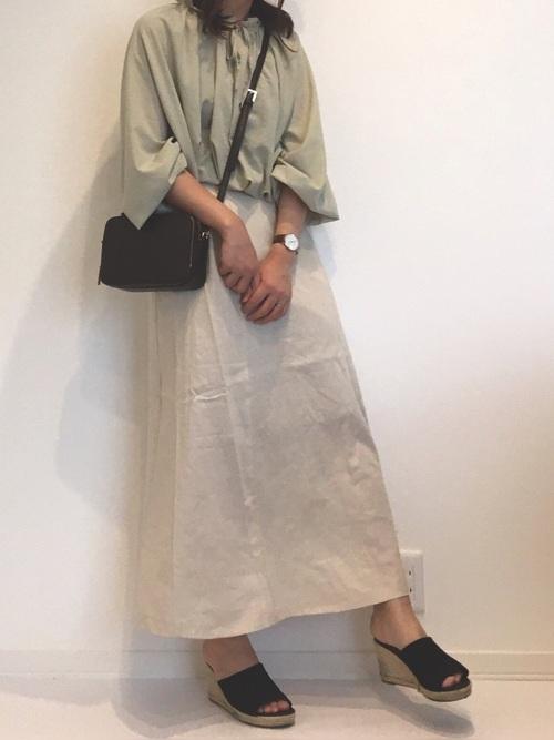 プチプラ スカート 大人女子 GU2