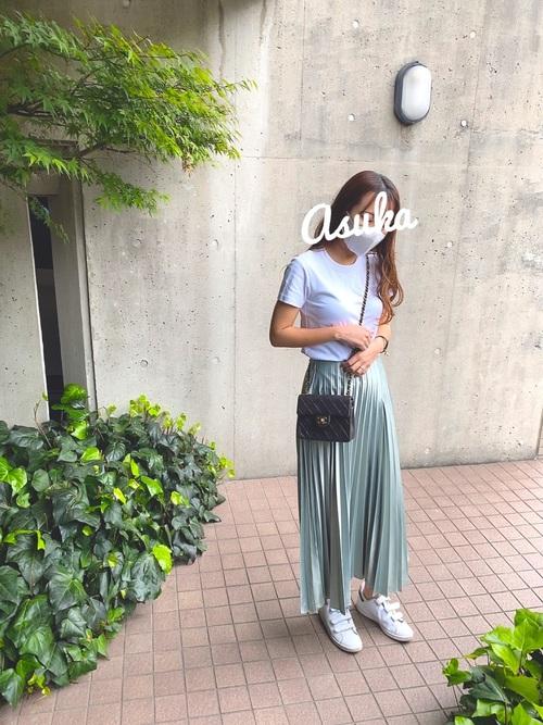 ZARA スカート 初夏コーデ3