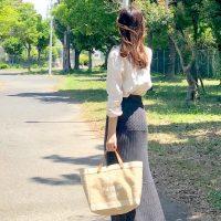 【GU】で手軽に作る春夏コーデ♡お手本にしたいレディースファッション