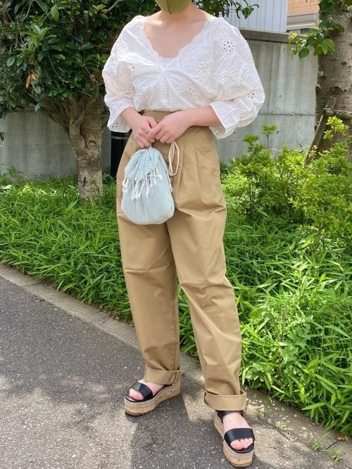 ユニクロ お手軽 初夏コーデ3