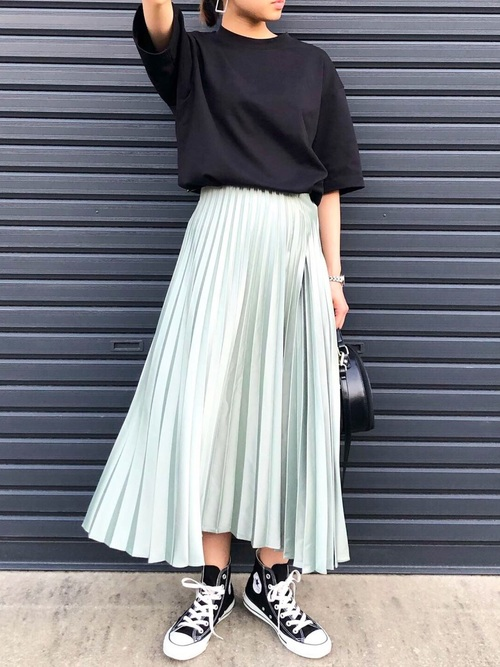 ZARAのスカートを使ったプチプラコーデ術