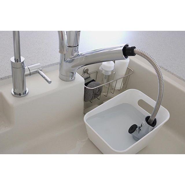 キッチンの水回り簡単漬け置き掃除方法