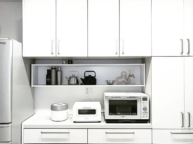 キッチンカウンター上の収納16