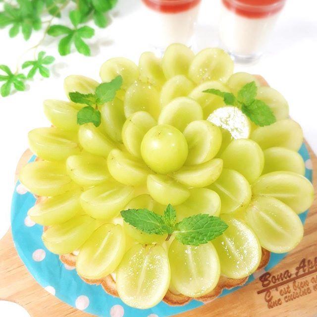 マスカットで人気の簡単なレシピ☆デザート5