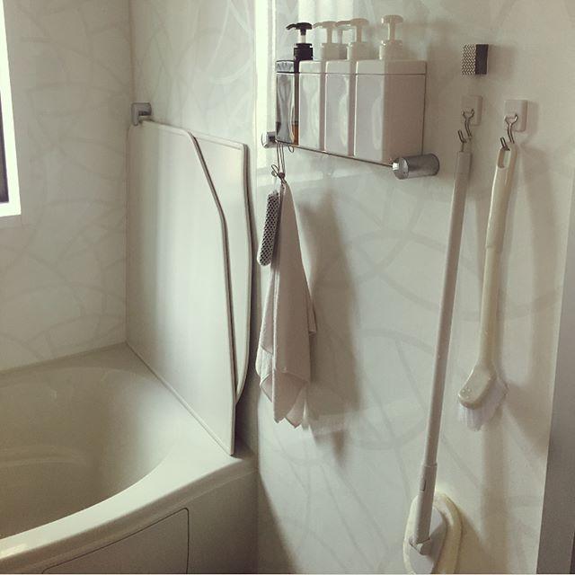 お風呂掃除全体におすすめで楽な道具