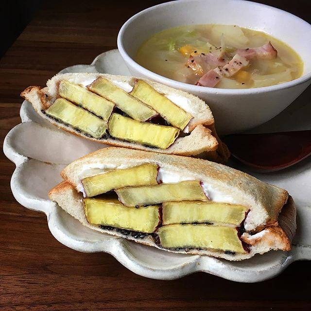サンドイッチのお弁当☆人気レシピ《野菜サンド》5
