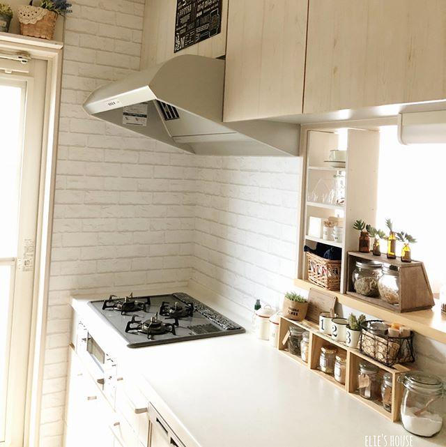キッチンカウンター上の収納14