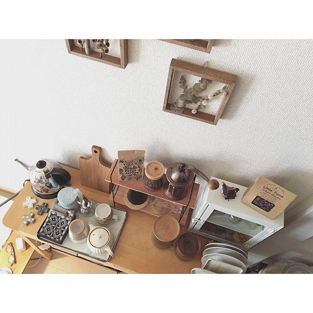 一人暮らしの収納アイデア《キッチン周り》3