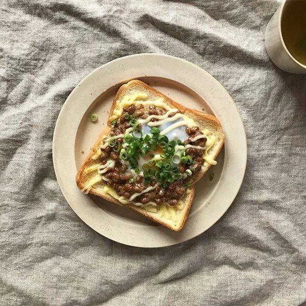 納豆の大量消費に!簡単納豆トースト