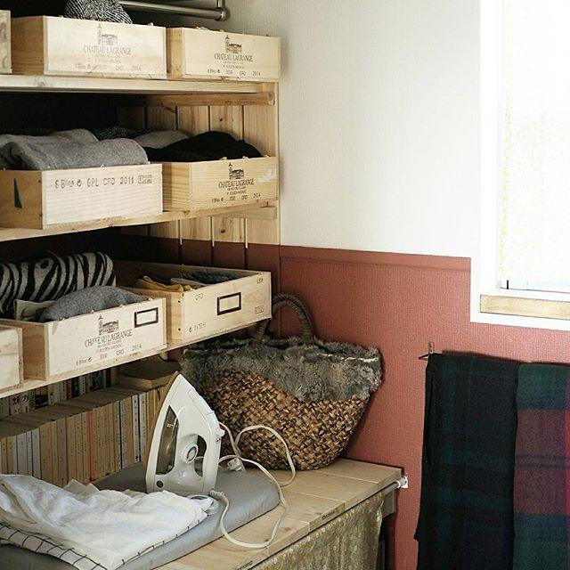 収納カゴを主役に雰囲気を決める方法