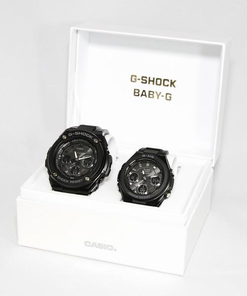 [CASIO] Pair Model / G-STEEL&G-MS / GST-W300G-1A1JF × MSG-W100G-1AJF / Gショック × ベビーG