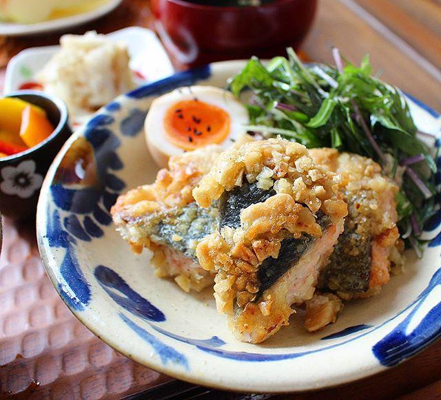 簡単な人気の作り置き!水菜とツナのマヨナムル