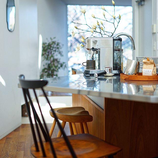 キッチン家電の収納アイデア11