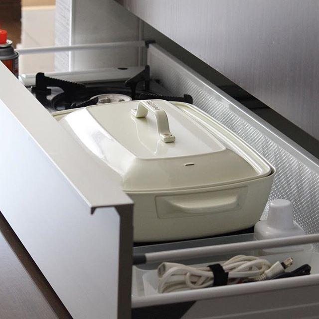 キッチン家電の収納アイデア15