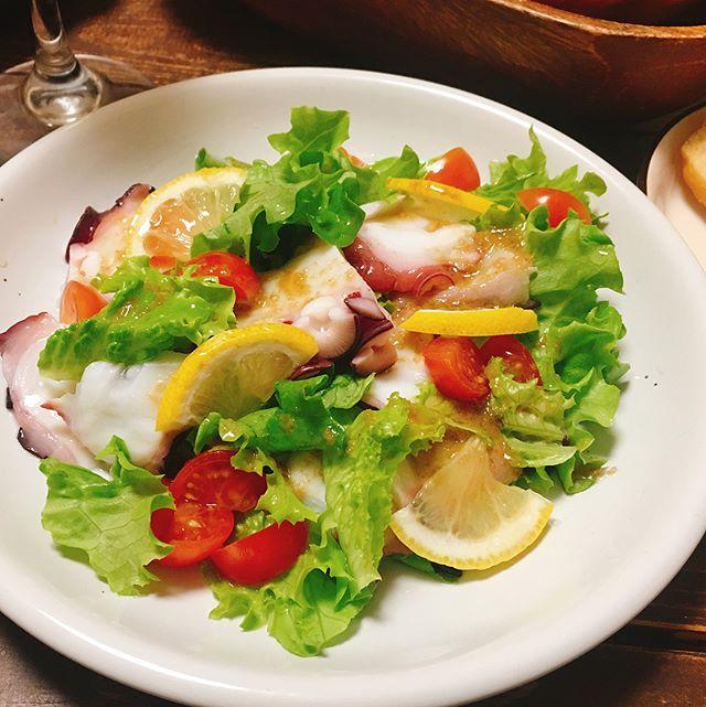 美味しい洋風おつまみ!簡単カルパッチョサラダ