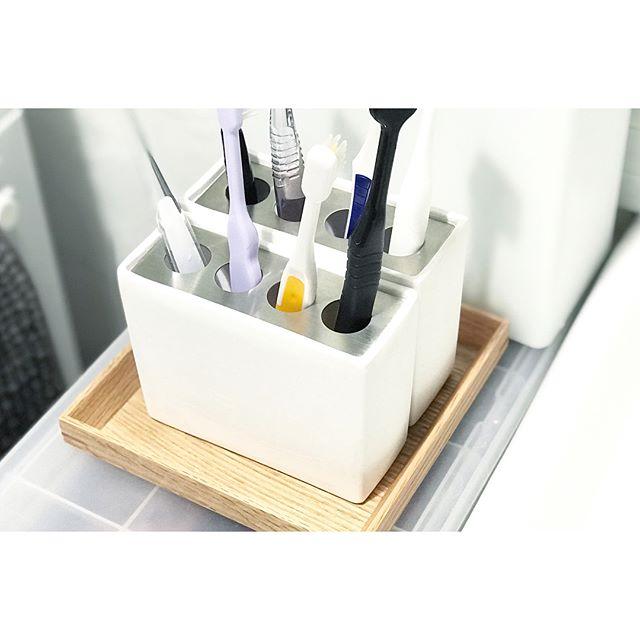 歯ブラシ収納アイテム5