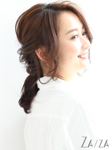 50代の着物に似合う髪型《ミディアム&セミロング》4
