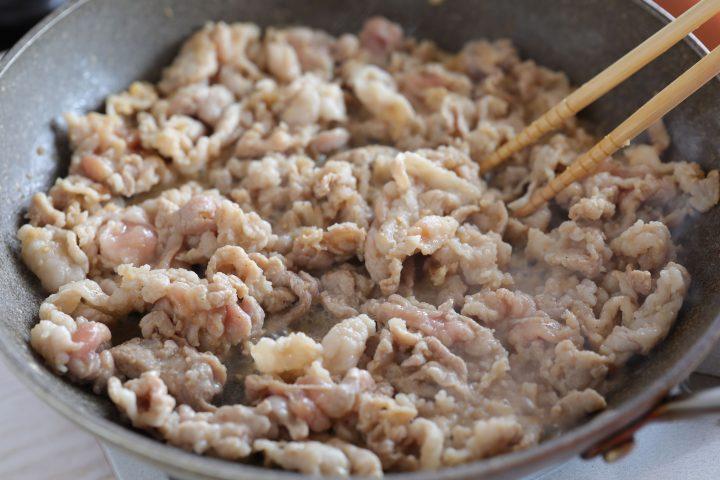 豚バラとトマト焼肉プレートごはん6