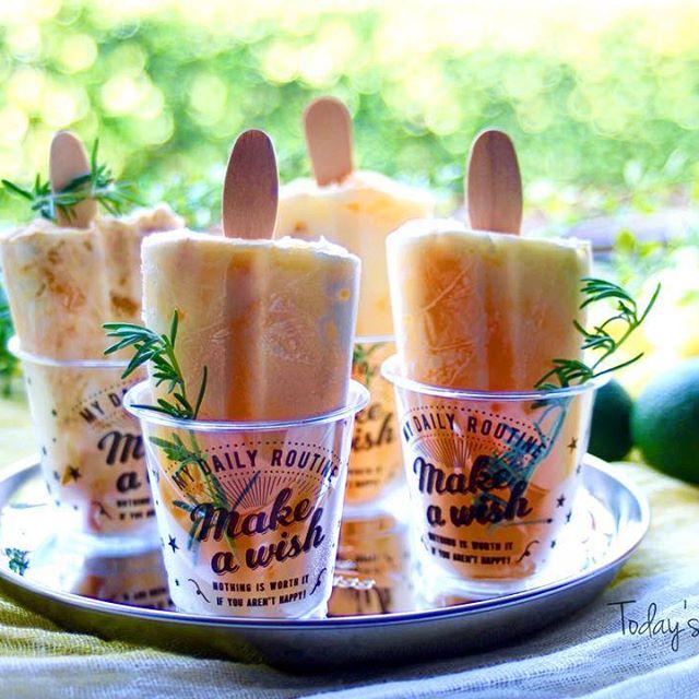 ピクニックに人気!マンゴーのアイスキャンディ
