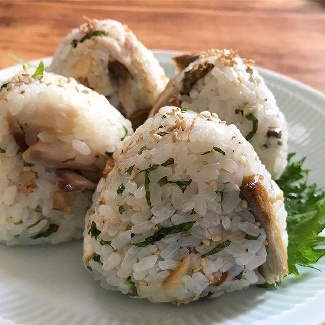 大葉で人気の大量消費レシピ☆主食4