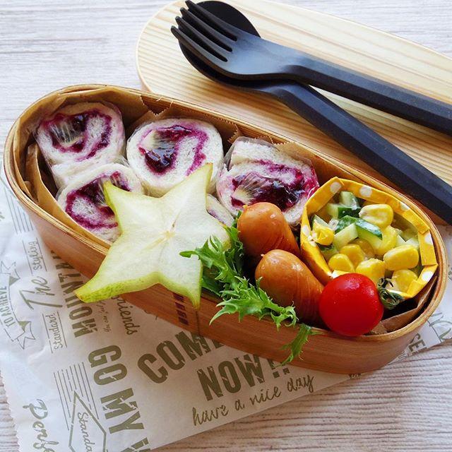 サンドイッチのお弁当☆人気レシピ《デザートサンド》
