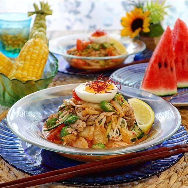 キムチの大量消費☆人気レシピ《麺類》4
