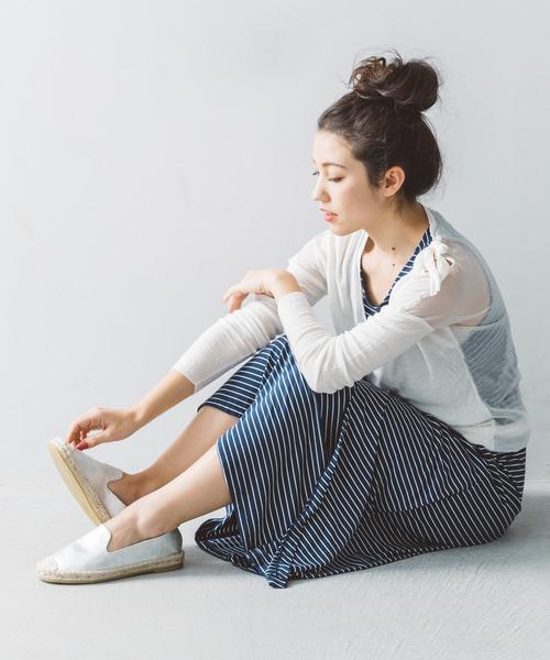[Carlie e felice] 柔らかく履きやすい ジュートスリッポン【RiiiKa/リーカ】