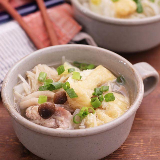 たくさん使えるレシピ!鶏肉と白菜のスープ煮