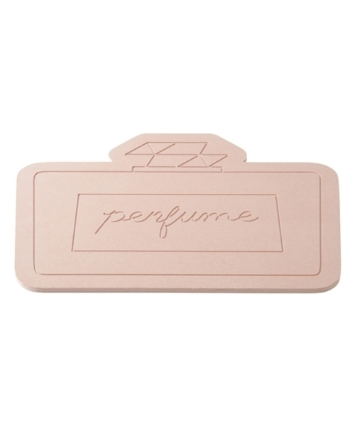 [Francfranc] 510x400 珪藻土バスマット パフューム ピンク