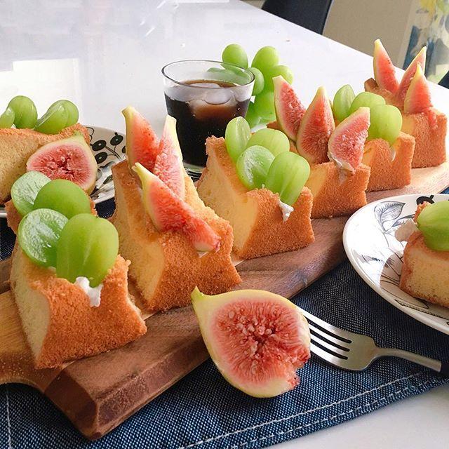 マスカットで人気の簡単なレシピ☆朝食7