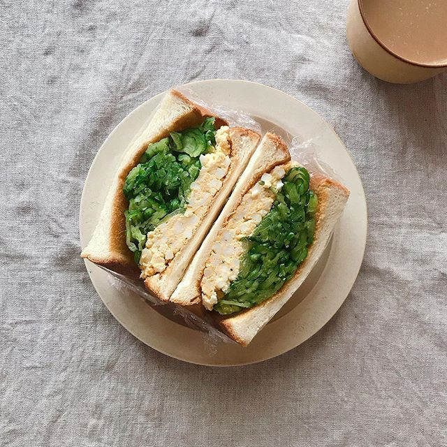 サンドイッチのお弁当☆人気レシピ《野菜サンド》4