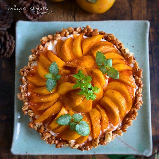 柿の人気レシピ☆簡単アレンジ《スイーツ》2