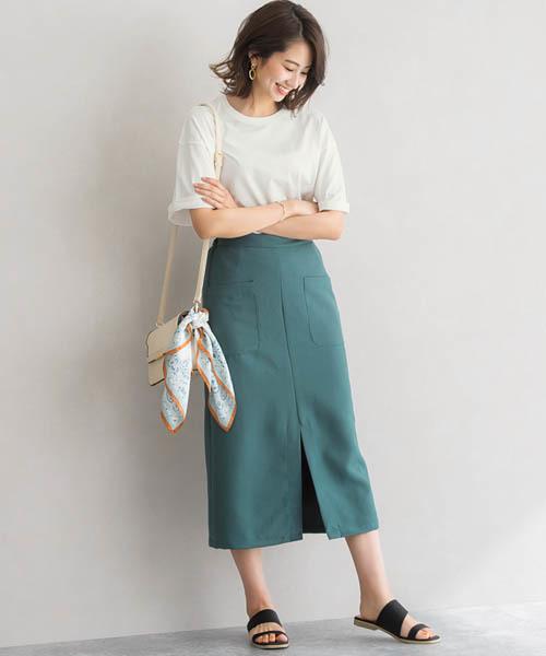 8月の金沢の服装《スカート》5