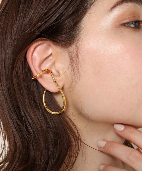 [PAS TIERRA] 【リエン】ワープイヤーカフ(片耳【右耳】用)
