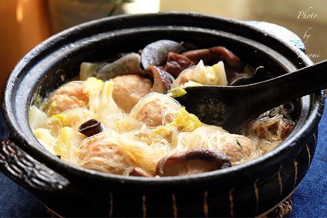 ピェンロー鍋風 中華風食べる豆乳スープ