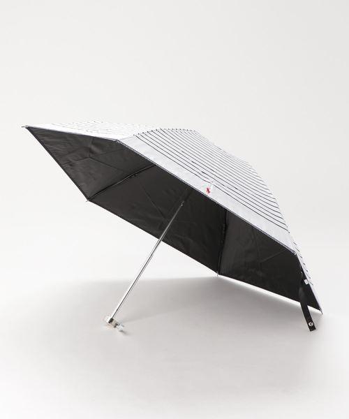 [MOONBAT] 日傘 【ボーダー フリル】